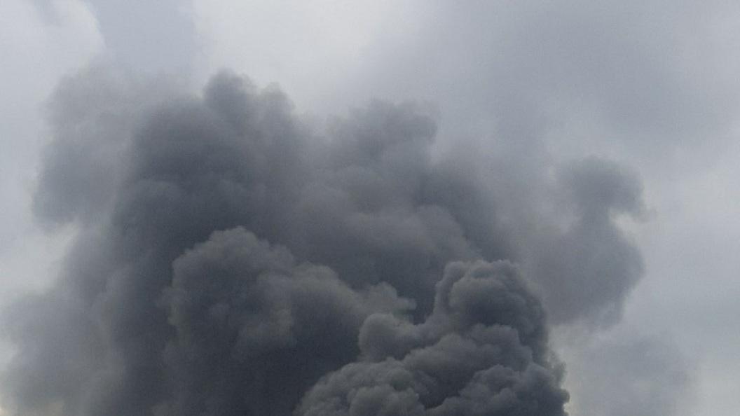 В МЧС назвали причину пожара в офисе Яндекса в Москве