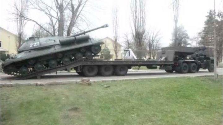 Танк-памятник из Адыгеи примет участие в Параде Победы в Ростове-на-Дону
