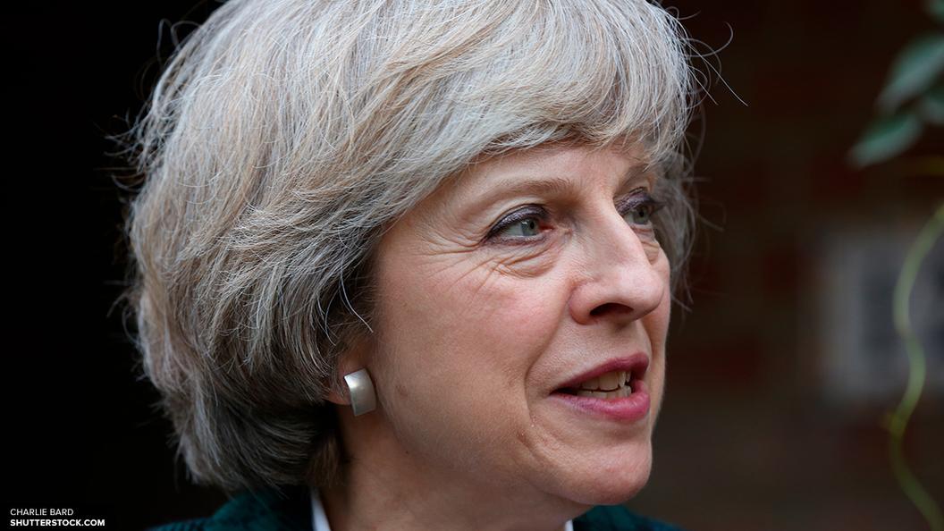 Тереза Мэй проголосовала в Беркшире на досрочных парламентских выборах