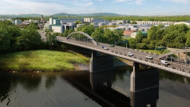 В Краснодаре построили почти половину опор нового Яблоновского моста