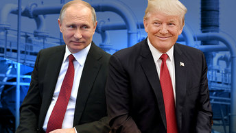 Трамп бросает вызов России и Германии