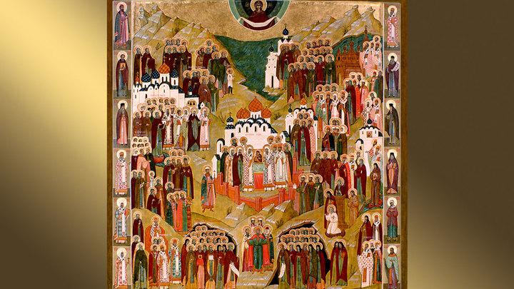 Неделя всех Русских святых. Православный календарь на 10 июня