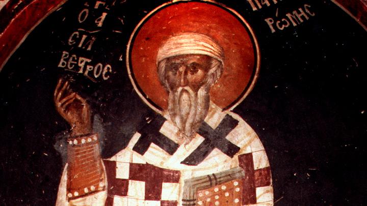 Ангел Западной Церкви. Святитель Сильвестр, Папа Римский. Церковный календарь на 15 января