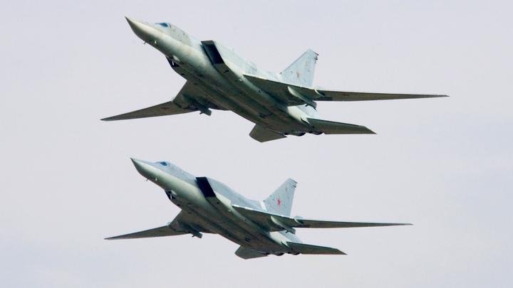 Российские Ту-22МЗ ликвидировали склады террористов с оружием в Сирии
