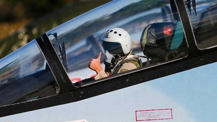 Не обидим, не ссыте!: После жалобы на Су-35 ВМС США получили приглашение покувыркаться