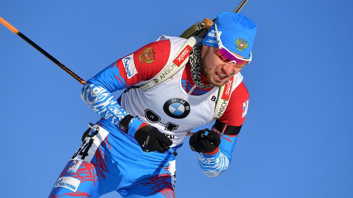 Логинов подвинул Фуркада в общем зачете Кубка мира по биатлону в Канаде