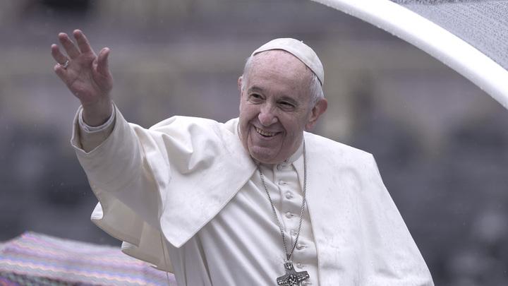 Папа Римский Франциск шуткой подтвердил свой визит в Россию
