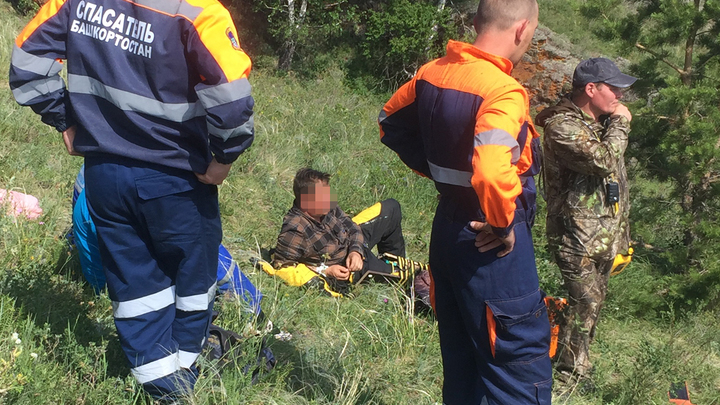 Спасали семь часов: челябинец перевернулся на квадроцикле в Башкирии