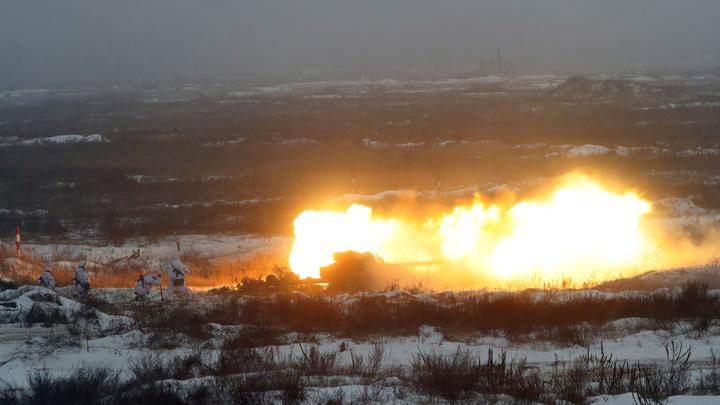 Формула Штайнмайера по-украински: ВСУ бьют по Горловке из дальнобойных миномётов