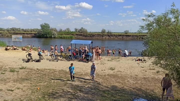 Пляжи Бабьи пески и на бульваре Солнечном в Кургане открыли для купания