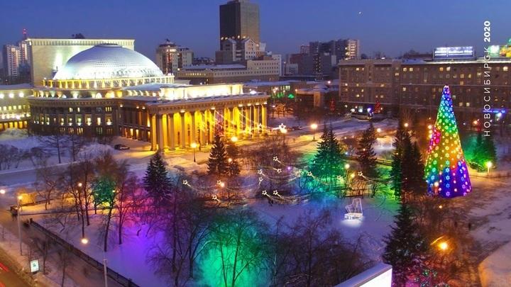 Из-за коронавируса в Новосибирске могут отменить гуляния в новогоднюю ночь