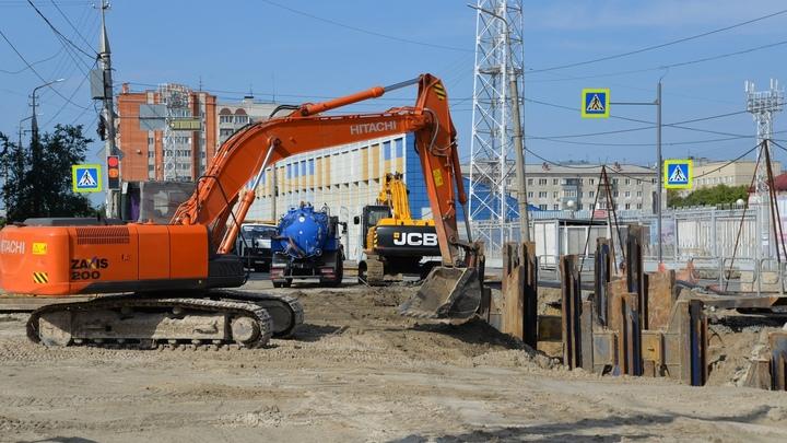 В Кургане восстановят часть дорожного покрытия и откроют перекресток на улице Куйбышева