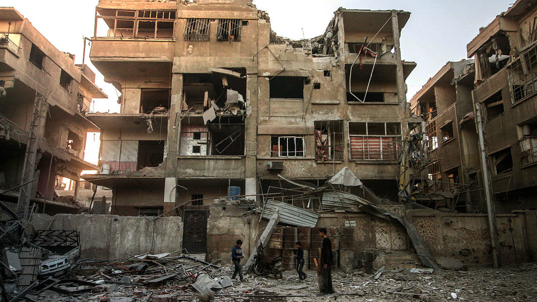Ничего нового в Сирии: Нечисть выжигают