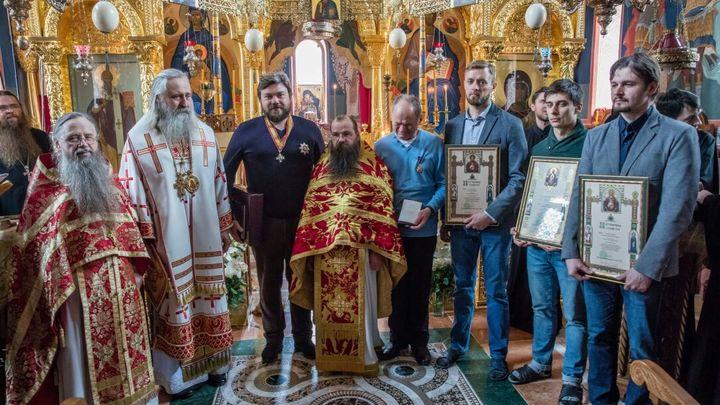 Константин Малофеев награжден Орденом Русской Православной Церкви