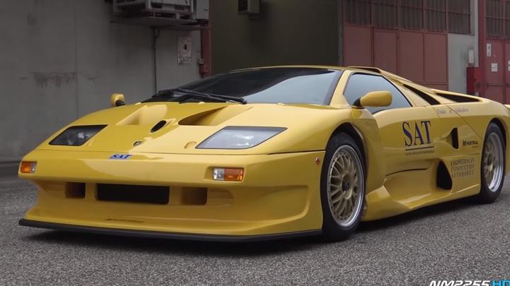 В Сети представили прототип экзотического Lamborghini Diablo GT1 Stradale