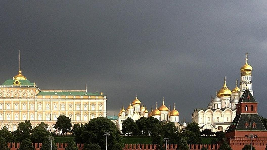 Желтый уровень опасности пришел в Москву раньше смс-оповещения