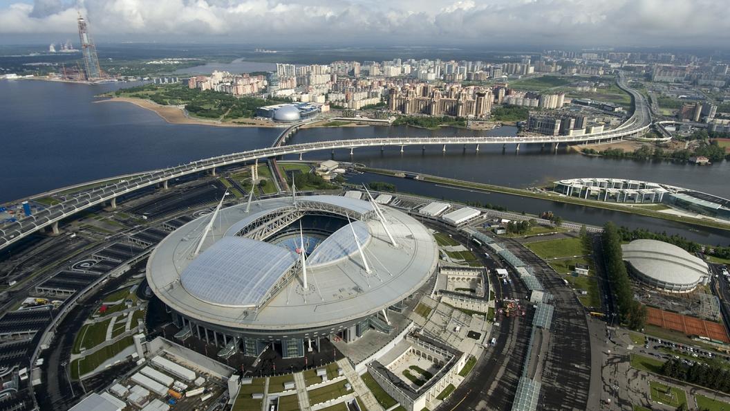 Санкт петербург крестовский арена фото