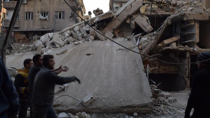 Центр Дамаска превратился в море огня под шквальным огнем минометов