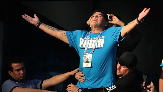 Без Марадоны никуда: Аргентина сыграет на ЧМ-2018 под чутким взором легенды