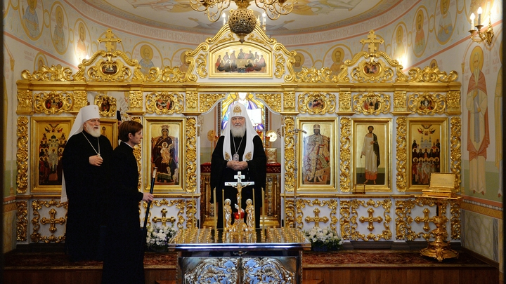 Без благословения: Русская Православная Церковь опубликовала список епархий Элладской Церкви для паломников