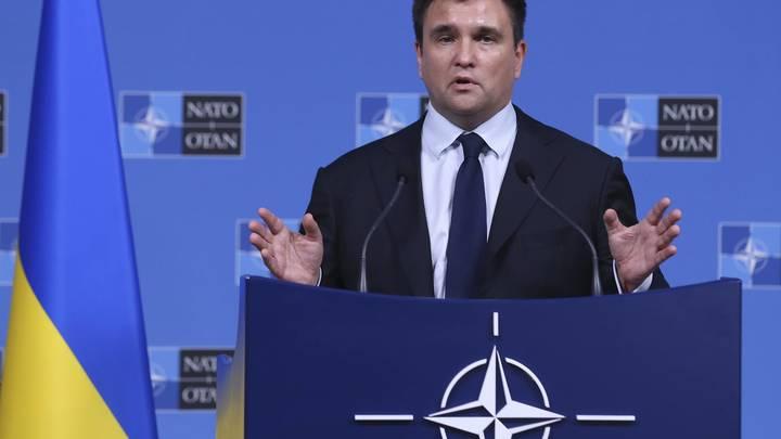 Глава МИД Украины Климкин назвал антироссийскую санкцию мечты