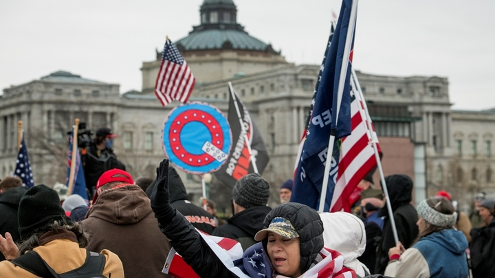 Арест за фото и пикап взрывателя: ФБР заподозрило протестующих в Вашингтоне в самом страшном