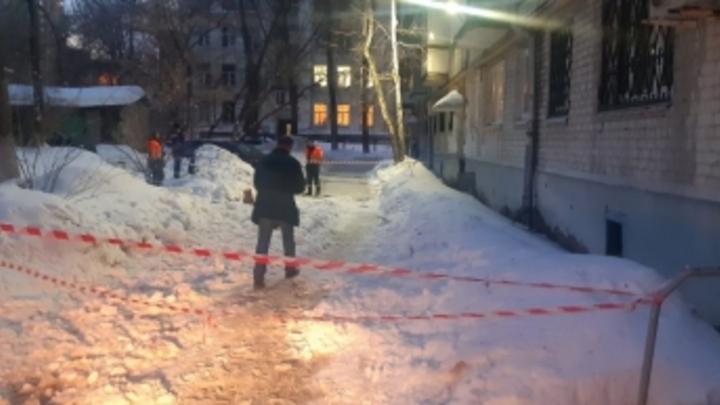 Ледяная глыба упала на 10-летнего мальчика в Самаре