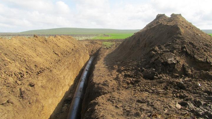 Строительство участка Таманского водопровода завершают на Кубани