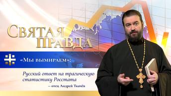 Мы вымираем: Русский ответ на трагическую статистику Росстата — отец Андрей Ткачёв