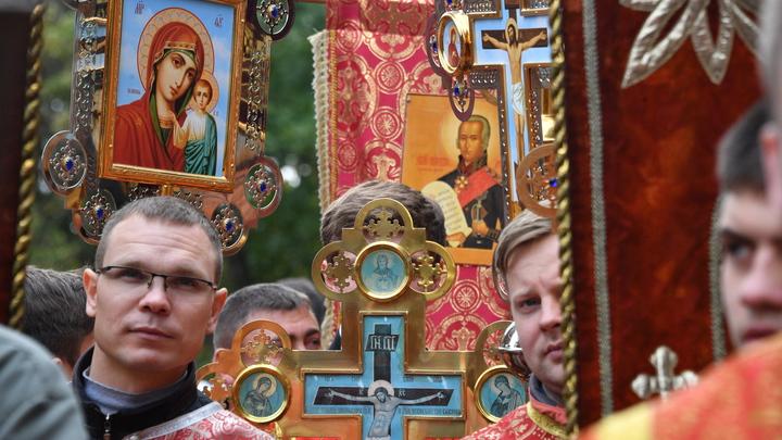 Таможня не дала добро на вывоз старинной иконы из Санкт-Петербурга в Америку