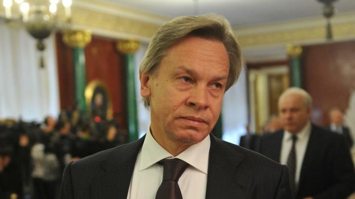 Видно, ценности очень спорные: Пушков объяснил истерику в Европе из-за победы Орбана