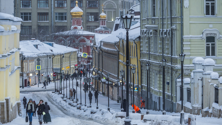 Беда не приходит одна: на Москву движется мешок холода
