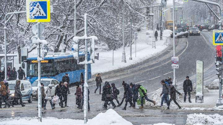 Синоптики о весенней погоде в Москве: Шквалистый ветер днем, морозы ночью