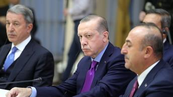 Эрдоган и Макрон рассказали в Елисейском дворце о будущей турецкой системе ПРО