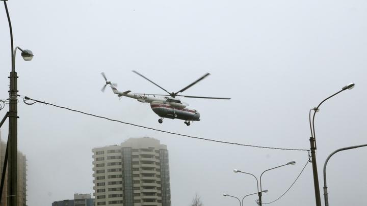 При пожаре в ТЦ РИО пострадали 14 человек, девять доставлены в больницу