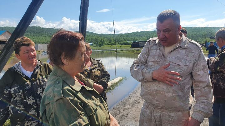 Гурулев разберется с авторами фейковых новостей о паводках в Забайкалье