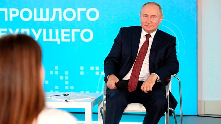 Школьный урок от Путина: Русским нужна определённая наглость
