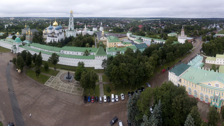 Русская Церковь превратит центр Сергиева Посада в «храм под открытым небом»