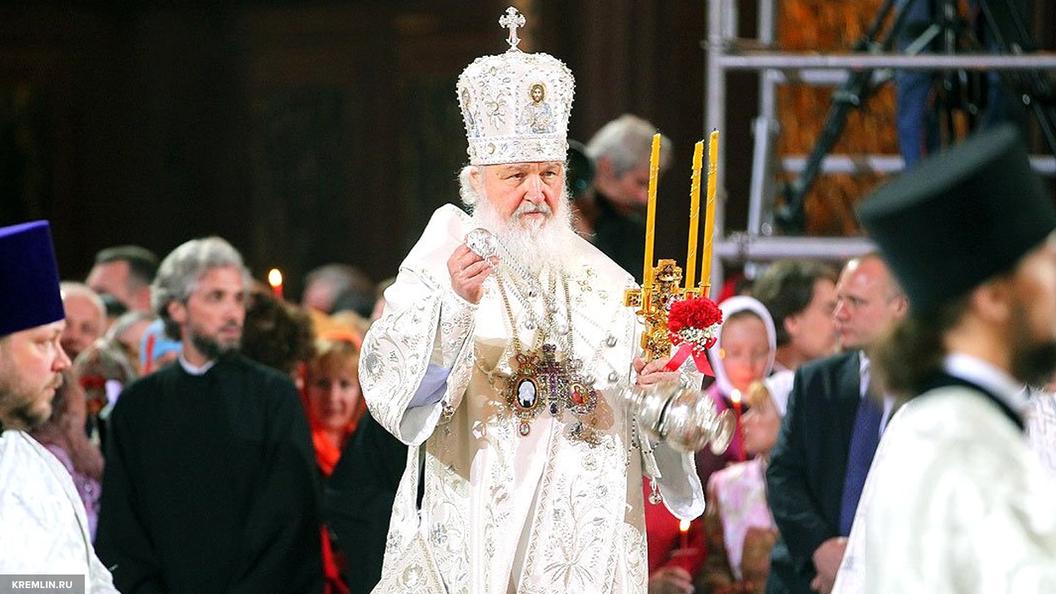 Патриарх Кирилл совершил Литургию в день 100-летия отречения Николая II