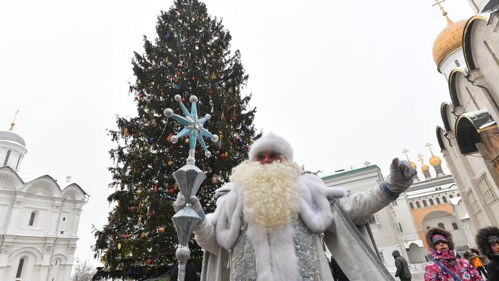 Губернатор и министры новосибирского правительства исполнили желания детей в костюмах Дедов Морозов