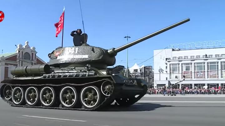 Восстановленный танк Т-34 покажут новосибирцам на форуме Армия-2021
