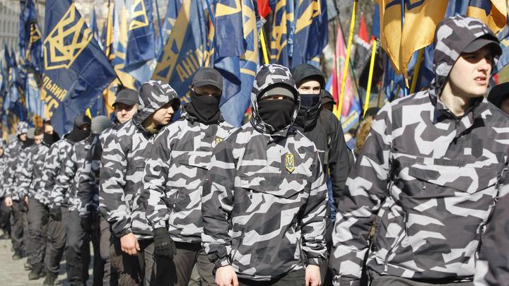 На Украине националисты похитили из монастыря гражданина Бразилии - видео