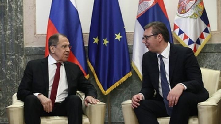 Лавров в зоне риска: Политтехнолог расшифровал извинения Путина перед Вучичем
