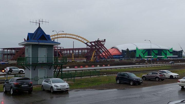 Губернатор Кузбасса рассказал, когда будет достроена «Кузбасс-арена»