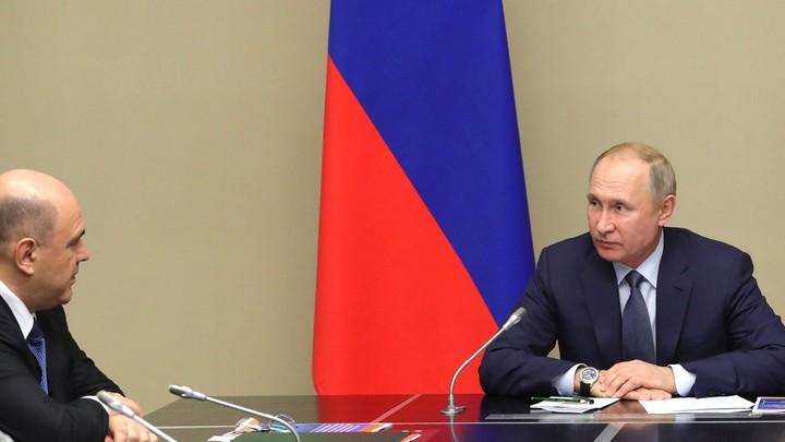 Мишустина никто не называл. Кроме меня: Путин объяснил выбор кандидатуры премьера
