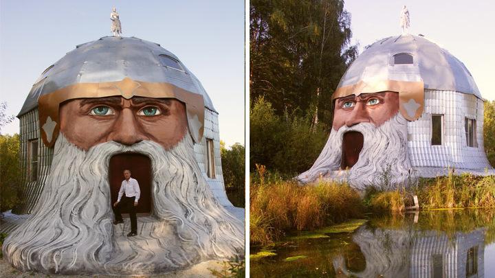 Мастер из Миасса рассказал, почему продает свой сказочный комплекс со знаменитой головой Святогора