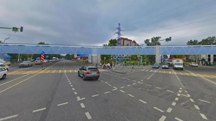 На пересечении Волоколамского шоссе с улицей Речной в Красногорске построят надземный переход