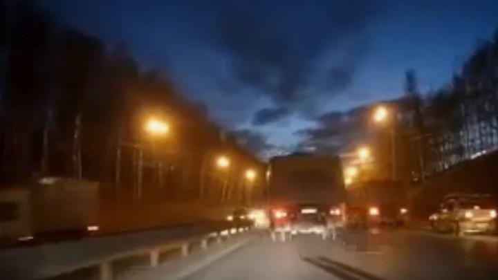 Смертельное ДТП возле Мызинского моста произошло 19 апреля 18+