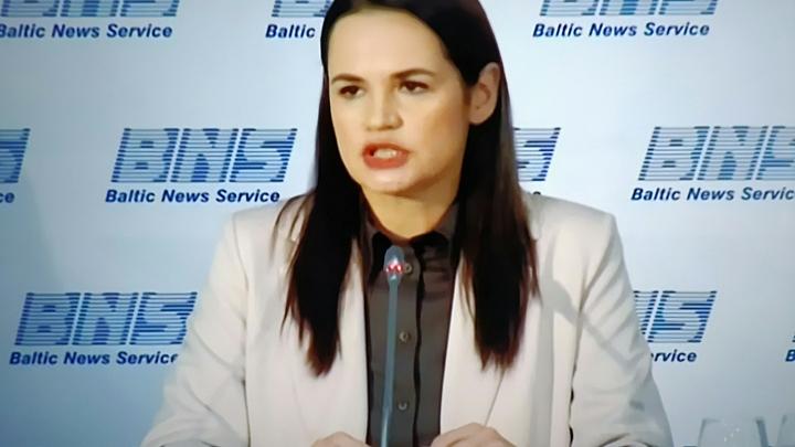 Светлана Тихановская выступит перед министрами Евросоюза