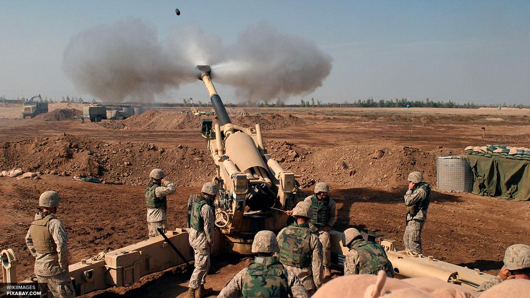 Террористы ИГИЛ сбросили на Мосул ракету с хлором